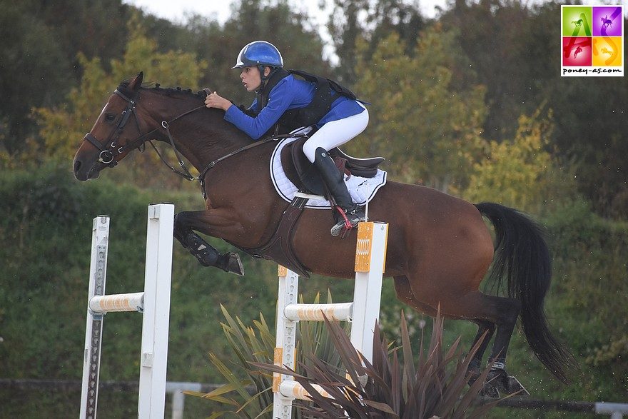 Matheo Denibeau et Bergamotte du Cap s'octroinet le Grand Prix As Excellence des Herbiers – ph. Poney As