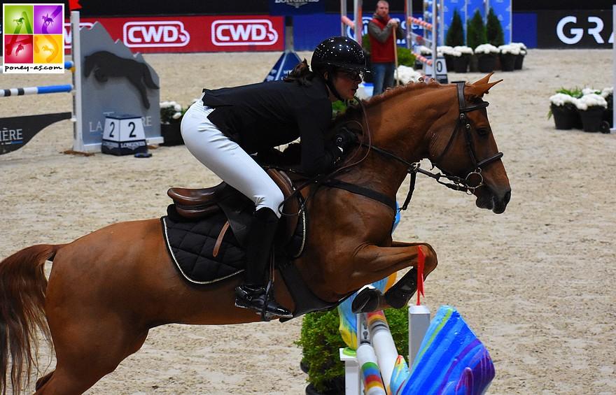 Victoire d'Agathe Masquelier et Alia des Cosses dans le Grand Prix As Excellence de Deauville- ph. Poney As