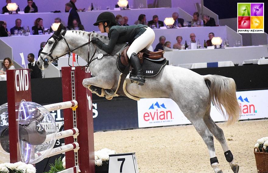 Emma Méric et Venise des Islots, classées 3e au provisoire avant les deux derniers rounds - ph. Poney As