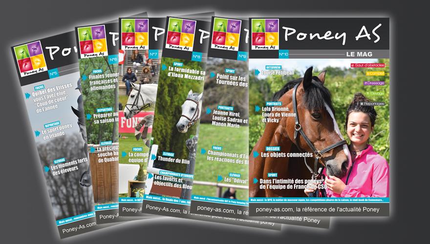 Prochaine édition du Magazine Poney As distribuée au BIP !