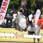 Lena Dreydemy et Boudchou de Bettegney remportent l'épreuve phare de la TDA de Metz – ph. Poney As