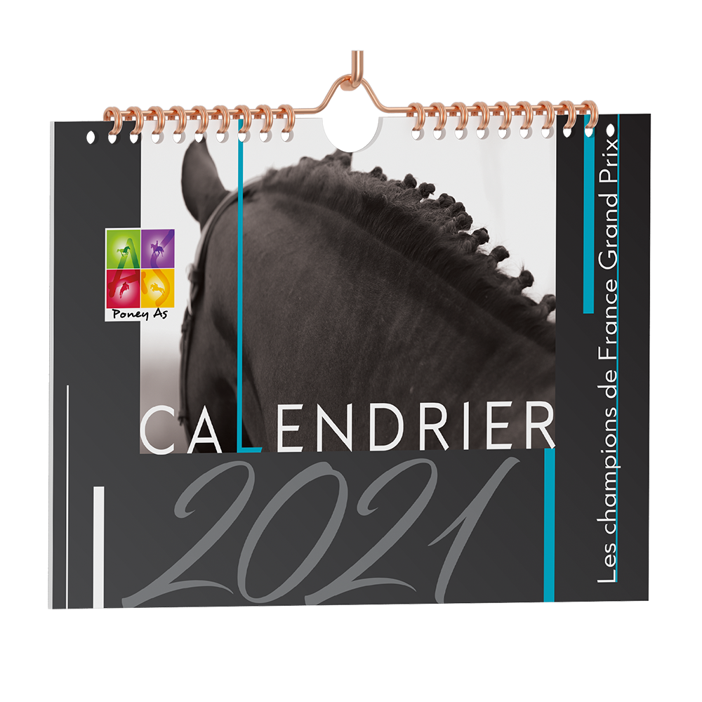 Calendrier 2021 by Poney As