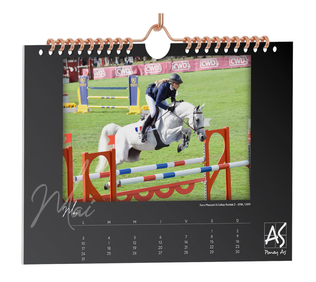 Calendrier 2021 Poney As page Mai