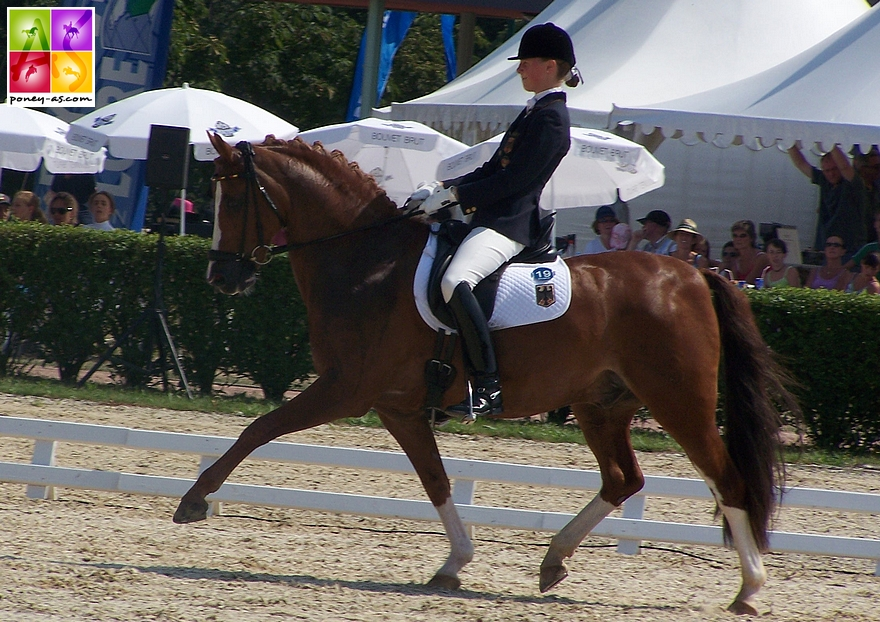 Saumur 2006 - Konrad et Sanneke Rothenberger – ph. Poney As