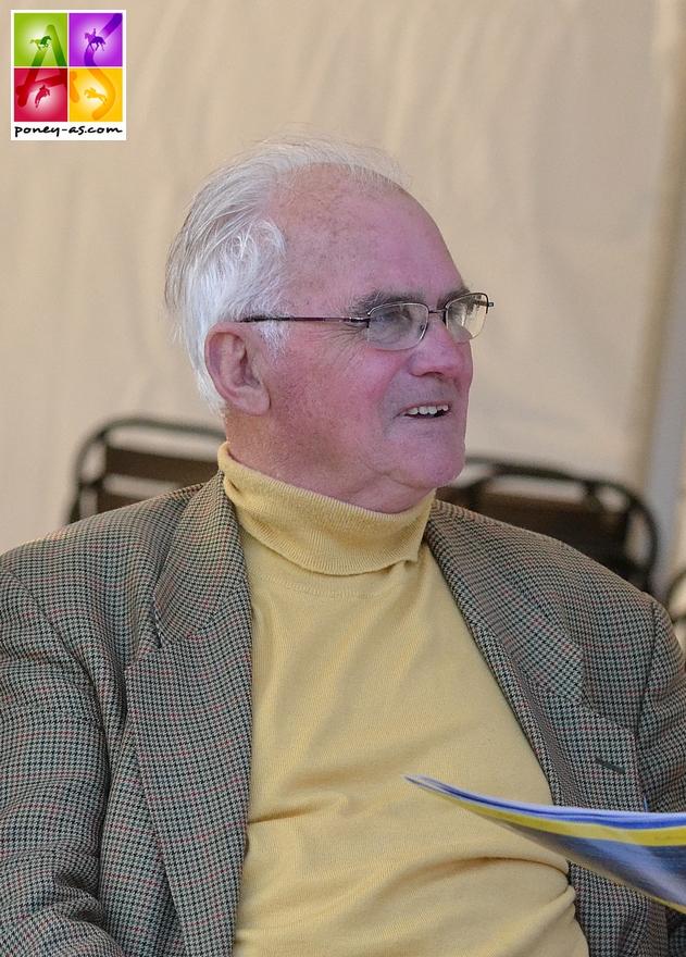 Jean-François Marès, instigateur de l'élevage de l'Aulne et président de l'AFPC pendant 19 ans. L'homme, l'ami nous a quittés à 86 ans - ph. Poney As
