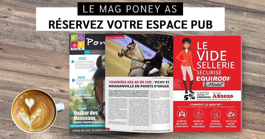 Le Mag Poney As du BIP : une belle visibilité s'offre à vous !