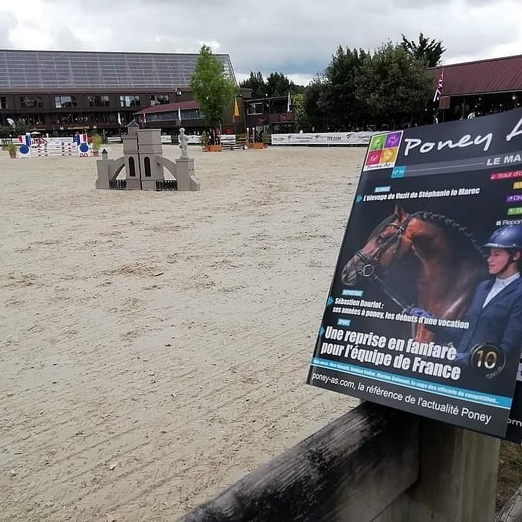 La dernière édition du Magazine Poney As est sortie début juillet, à l'occasion des championnats de France des As organisés au Pôle Européen du Cheval