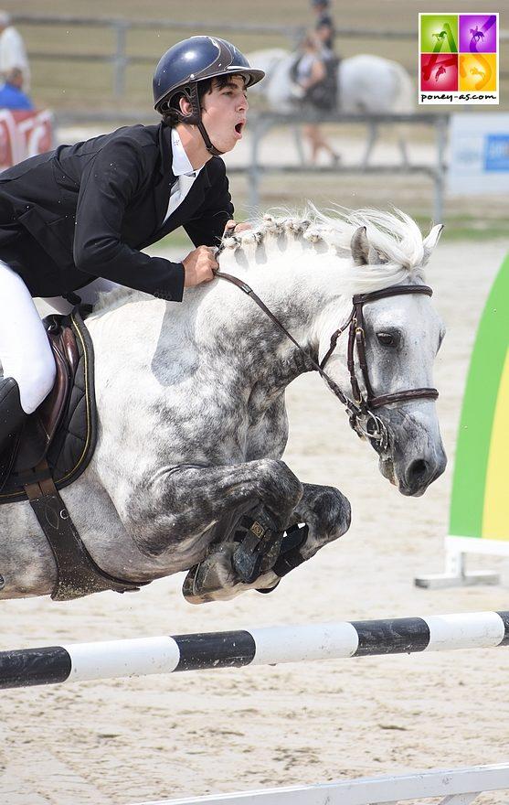 Antoine Renoult et Atomic du Ried remportent le Grand Prix As Excellence du Sologn'Pony – ph. Poney As