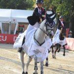 Lola Brionne et Clémentine médaillées d'or par équipe aux championnats d'Europe de Strzegom cet été - ph. Poney As