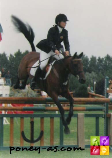 Sammy Pharo et Colton Maelstrom aux championnats d'Europe du Touquet en 1998 - photo Pauline Bernuchon