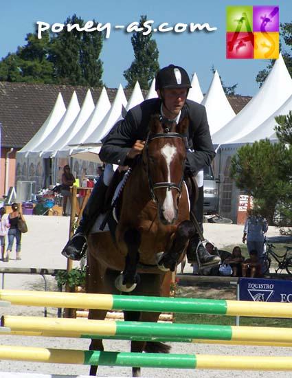 Mention Elite : Polo de Niafles (Pfs, Rocky Grichet, Co x Solide de la Selle, Pfs), photo Pauline Bernuchon