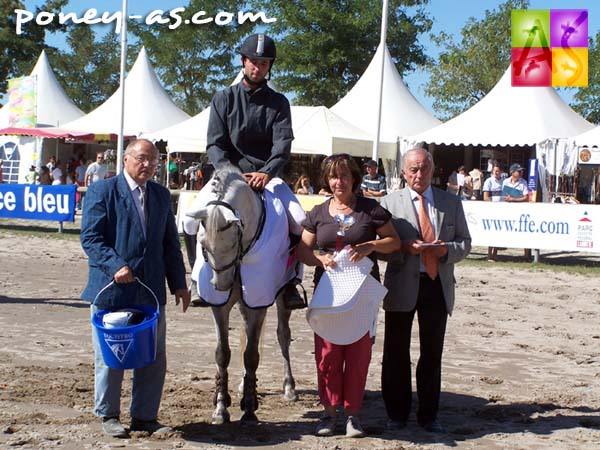 Championne des 6 ans C : Pomone Rose des Vents (Pfs, Un Prince du Ruere, Co), Photo Pauline Bernuchon