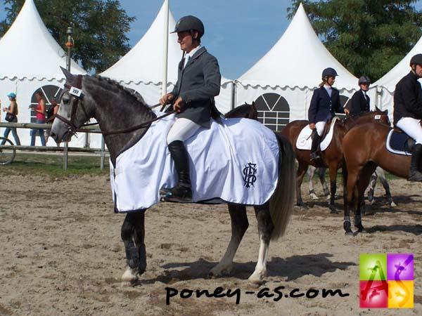Champion des 5 ans D : Quesaco du Bary (Pfs, Leadership, Co), photo Pauline Bernuchon
