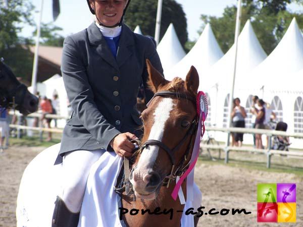 Championne des 5 ans C : Quietude d'Audes (Wb, Iram d'Audes x Abercrychan Spectator), photo Pauline Bernuchon