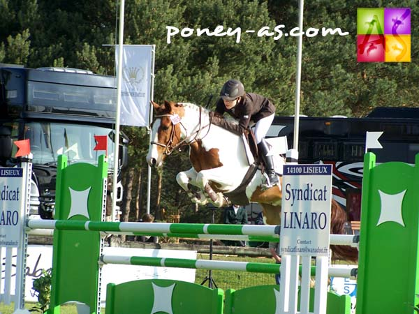 Pauline Pallandre et Quick Star d'Avril, 2e du Grand Prix des 6 ans, photo Pauline Bernuchon