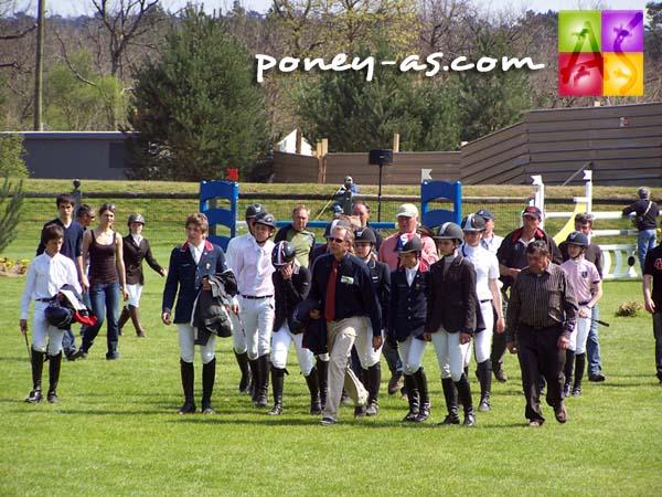 Reconnaissance des cavaliers français, photo Pauline Bernuchon