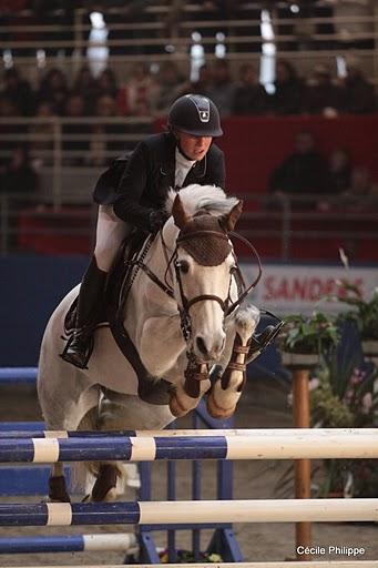 Emilie Carradot et Kauline de la Bauche sont les seuls sans-faute du Grand Prix des As Excellence - Ph. Cécile Philippe