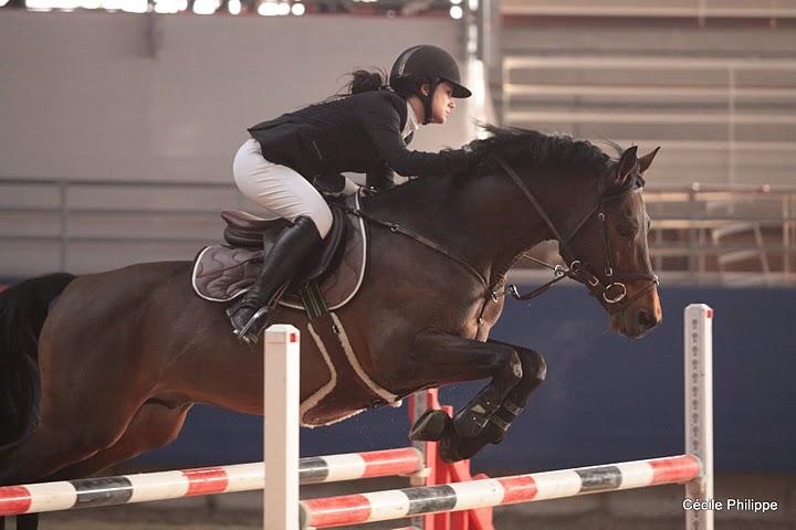Laure Hélène Frémondière et Melvin Candy accrochent la troisième place - Ph. Cécile Philippe