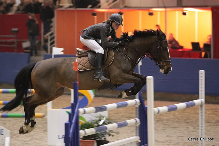 Mathilde Soulier et Moonlight Shadow remportent la Vitesse - Ph. Cécile Philippe