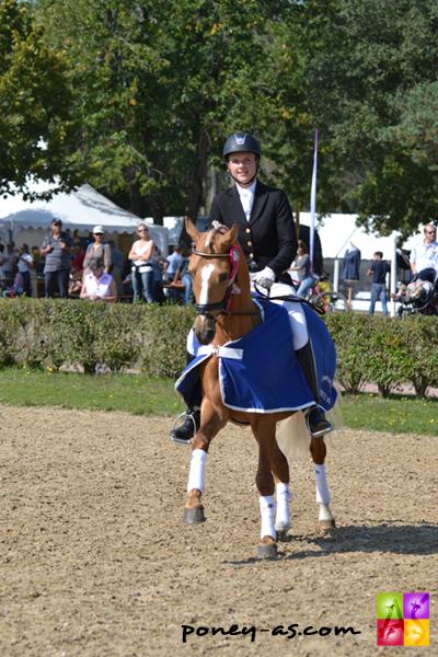 Le champion des 4 ans : Champgner de Luxe - ph. Pauline Bernuchon
