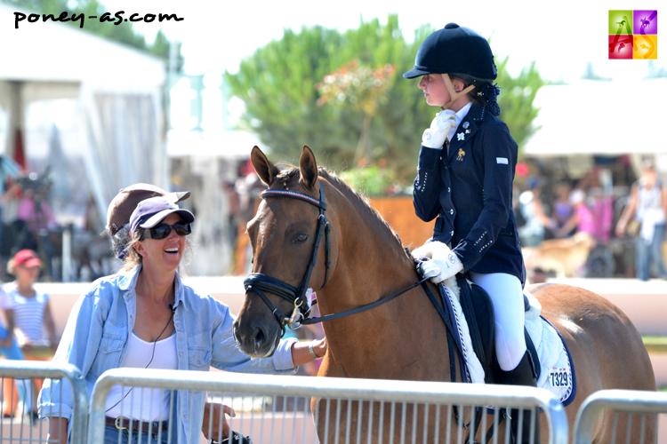 Clarissa et Diana, lors des derniers championnats de France - ph. Pauline Bernuchon