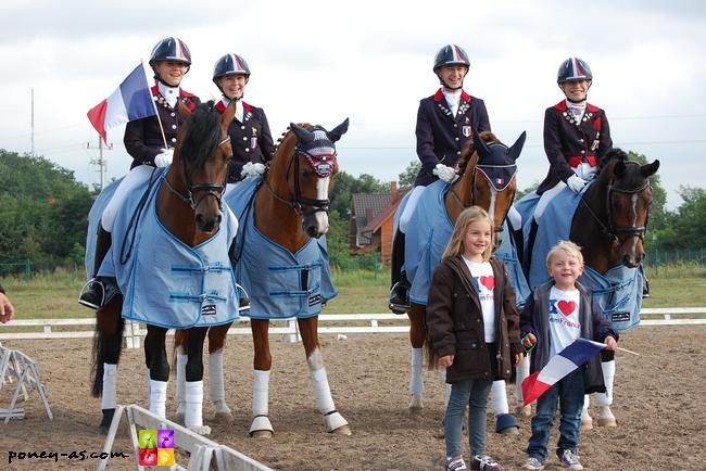 L'équipe de France 2011 - ph. Camille Kirmann