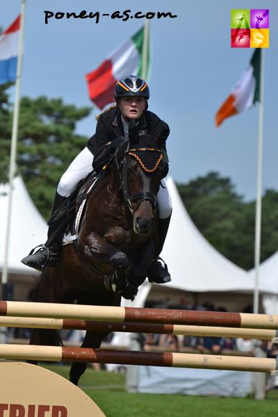 13e, Lara Bergmann (Ger) et Caletto 51 - ph. Pauline Bernuchon