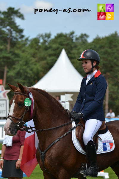 4e place de Carla et Kisaute Ho... - ph. Pauline Bernuchon