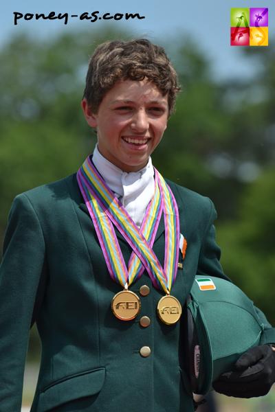 Cathal Daniels, double champion d'Europe de CCE - ph. Pauline Bernuchon