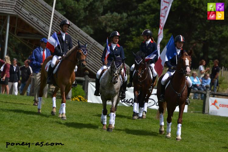 L'équipe de France prend la 5e place - ph. Pauline Bernuchon