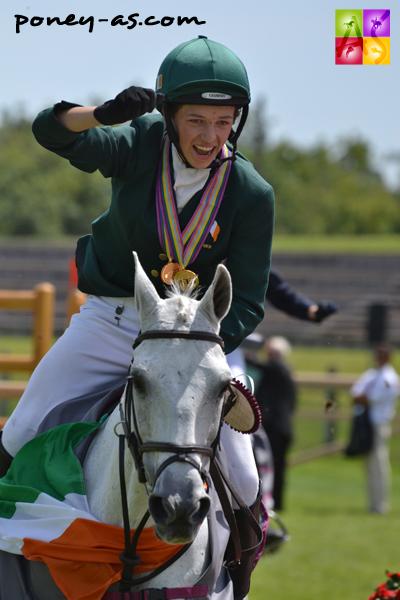 Les irlandais Cathal Daniels et Master Murrose sont les nouveaux champions d'Europe - ph. Pauline Bernuchon