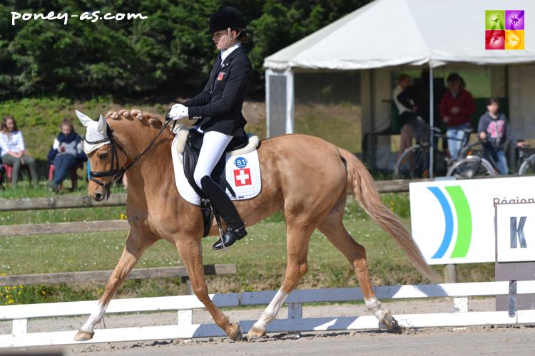 Anastasia Huet (Sui) et Equestricons Day of Diva - ph. Pauline Bernuchon
