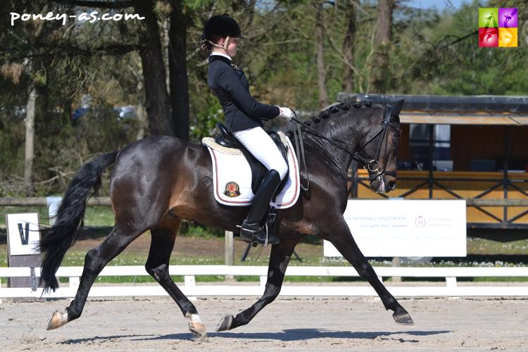 Lavinia Arl (Bel) et Equestricons Epiascer - ph. Pauline Bernuchon