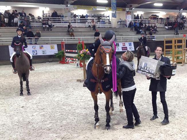 Victoire pour Ninon Castex et Quabar des Monceaux - ph. Julien Murier