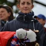 Alizée Froment, fidèle supportrice avec la mascotte Millstreet ! - ph. Pauline Bernuchon