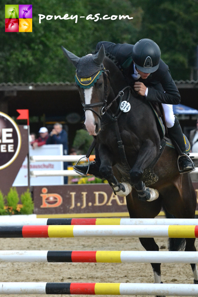 3e, Holiday R (Rocketti x Hondsrug Don Gregory) et Philipp Schulze Topphoff - ph. Pauline Bernuchon