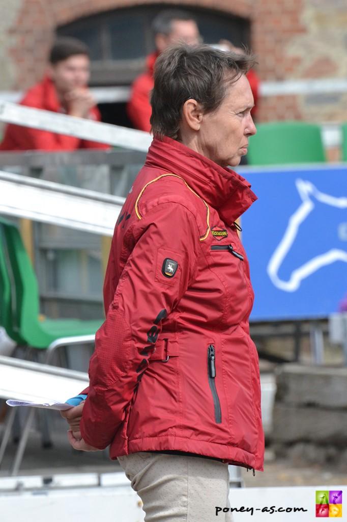 Cornelia Endres, sélectionneur de l'équipe d'Allemagne - ph. Pauline Bernuchon