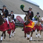 L'équipe d'Allemagne championne d'Europe - ph. Pauline Bernuchon.