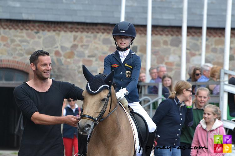 Lucie-Anouk Baumgürtel (Ger) avec Marcus Hermes - ph. Pauline Bernuchon