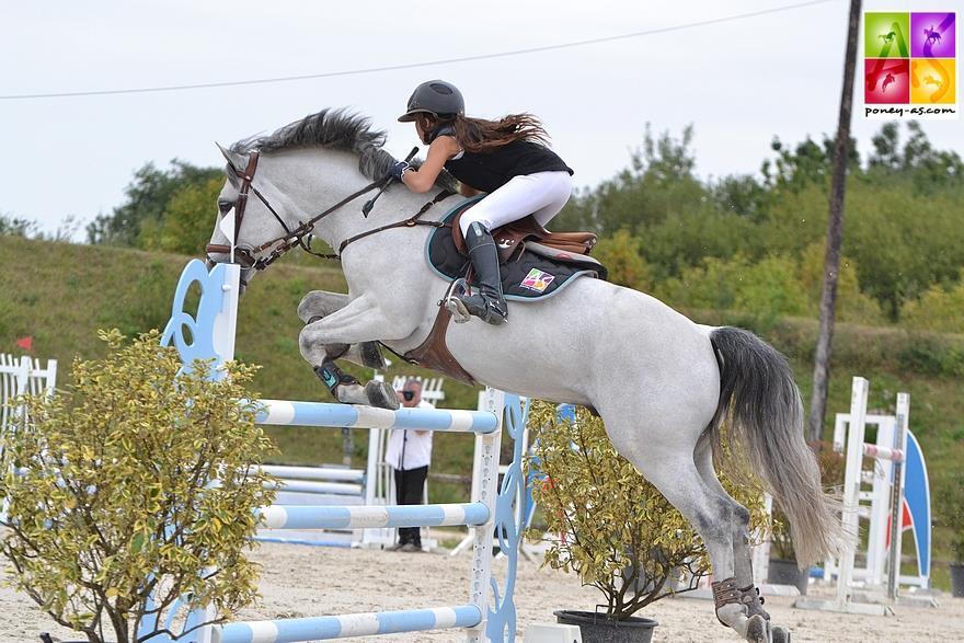 Zoé Tisseron Tournée des As poney