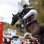 Louna et Alto dans le CSIOP de Fontainebleau - ph. Poney As