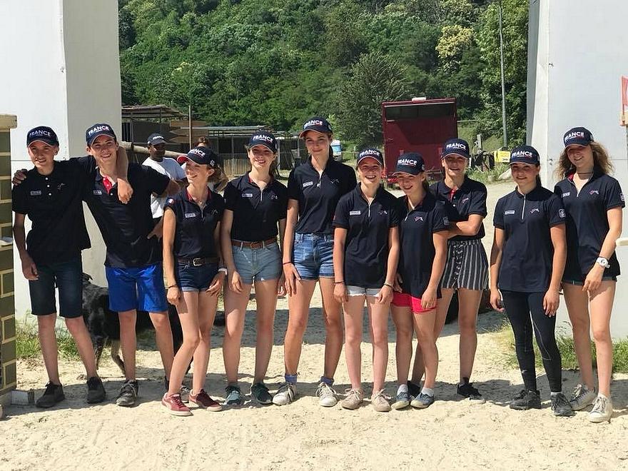 Equipe de France du CCIP de Pallare - ph. coll. privée