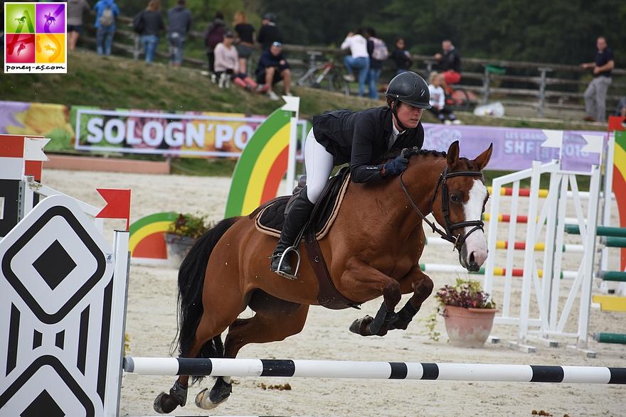 11e - Cassandre Meniljean et Valérie Rohmer - ph. Poney As