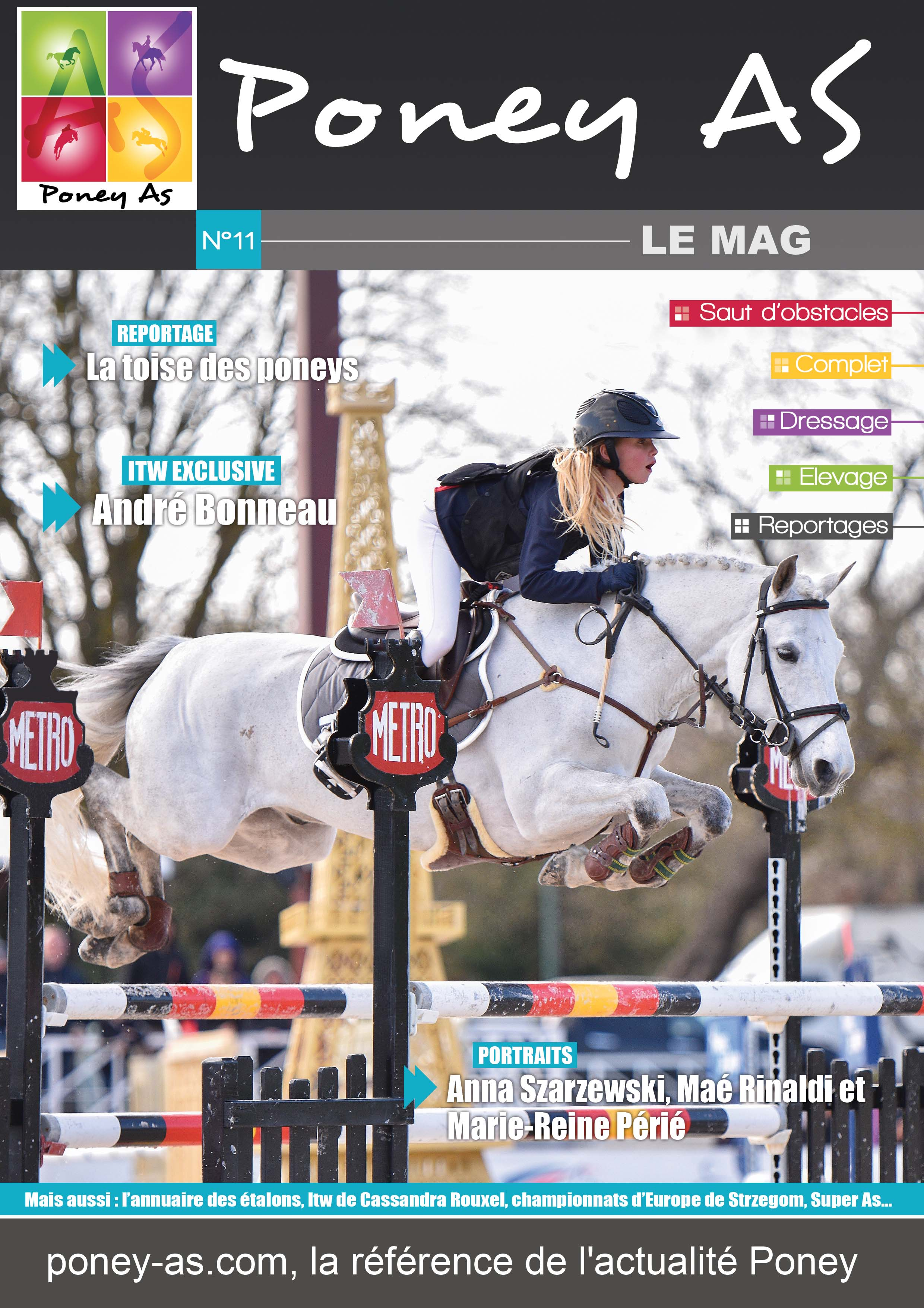 Mag n°11 - Poney As