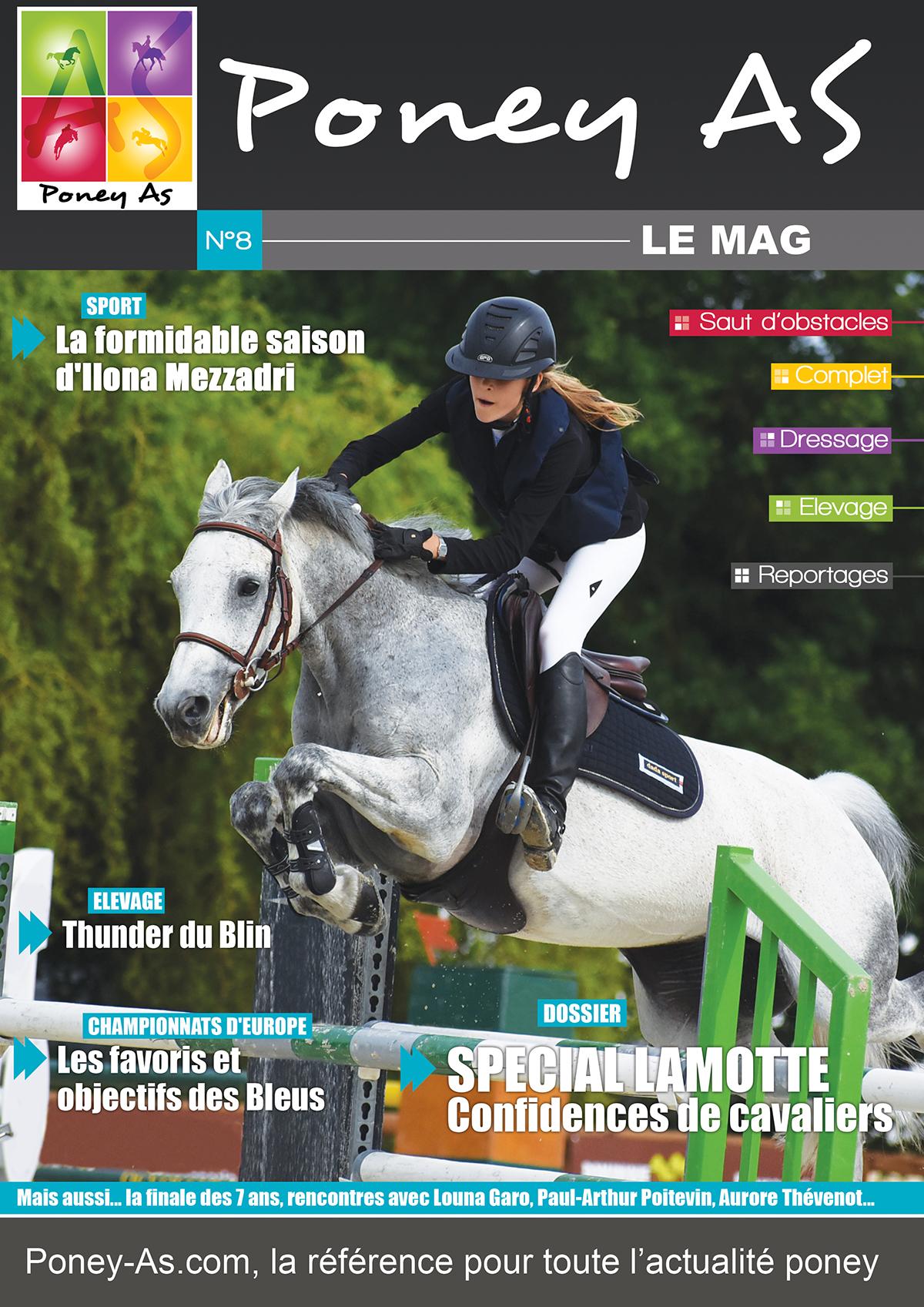 Le Mag Poney As n°8 - édition Open de France 2018