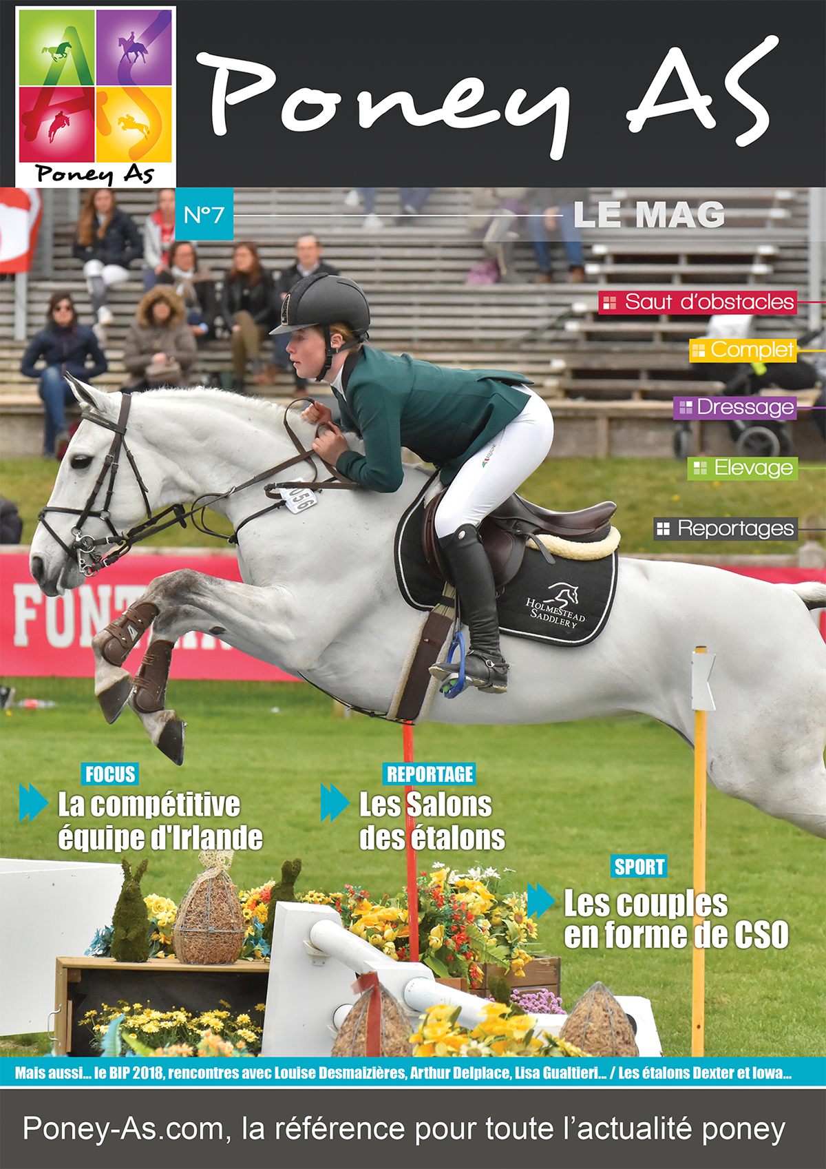 Le Mag Poney As n°7 - édition BIP 2018