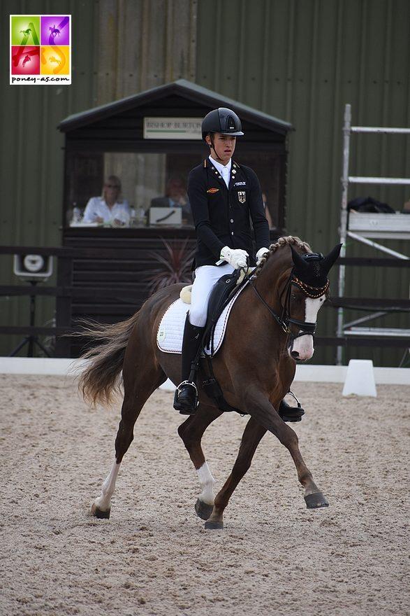 Moritz Treffinger (Ger) et Top Queen H - ph. Poney As
