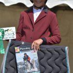 Zoé Tisseron, récompensée l'an passé par Poney As, est de nouveau en lice à Niort - ph. Poney As