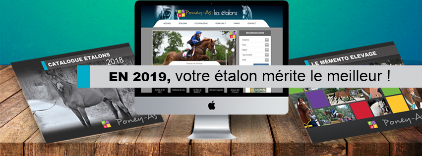 Catalogue des Etalons Poney As 2019
