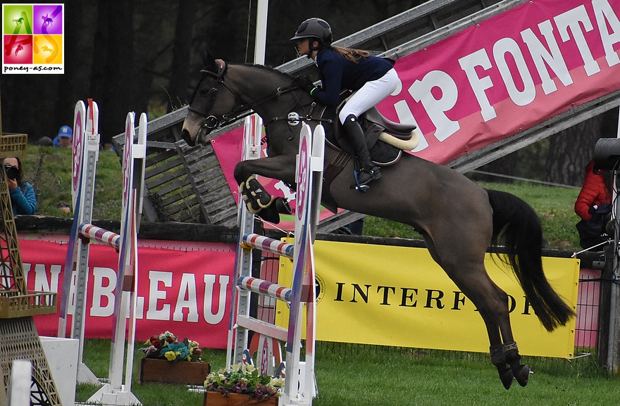 Louise et United au CSIP du BIP - ph. Poney As